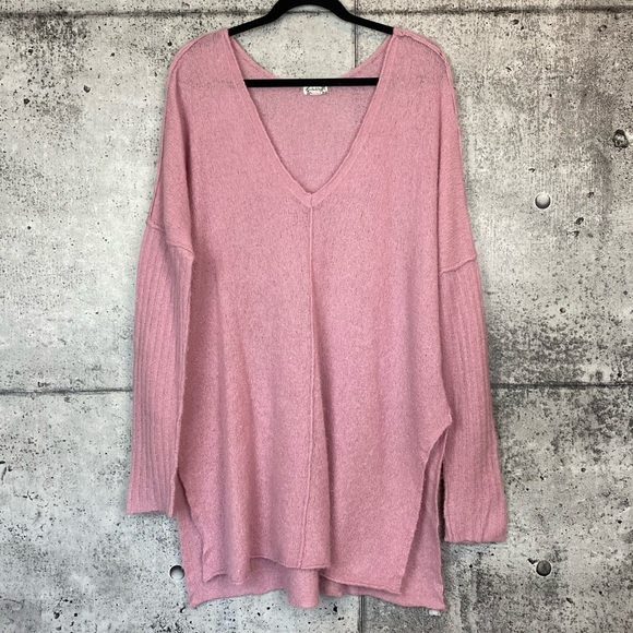 Free People Sweaters - Intimately Free People // Oversized V-Neck Sweater